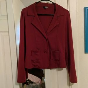 Basic House | Red Blazer 2 buttons
